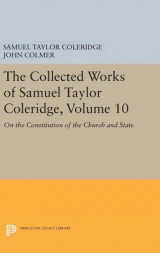 Omslag - The Collected Works of Samuel Taylor Coleridge: On the Constitution of the Church and State Volume 10