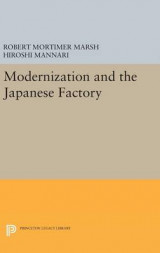 Omslag - Modernization and the Japanese Factory