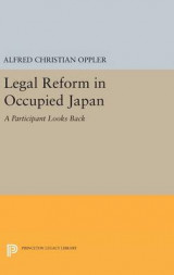 Omslag - Legal Reform in Occupied Japan