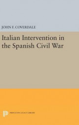 Omslag - Italian Intervention in the Spanish Civil War