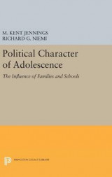 Omslag - Political Character of Adolescence
