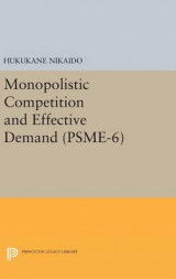 Omslag - Monopolistic Competition and Effective Demand. (PSME-6)