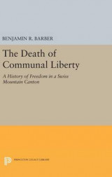 Omslag - The Death of Communal Liberty