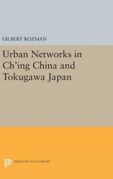 Omslag - Urban Networks in Ch'ing China and Tokugawa Japan