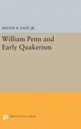 Omslag - William Penn and Early Quakerism