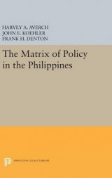 Omslag - The Matrix of Policy in the Philippines