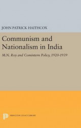 Omslag - Communism and Nationalism in India