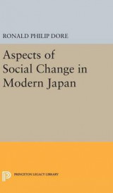 Omslag - Aspects of Social Change in Modern Japan
