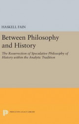 Omslag - Between Philosophy and History