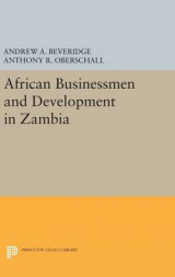 Omslag - African Businessmen and Development in Zambia