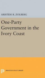 Omslag - One-Party Government in the Ivory Coast