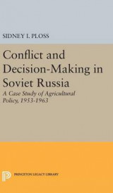 Omslag - Conflict and Decision-Making in Soviet Russia