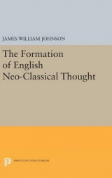 Omslag - Formation of English Neo-Classical Thought
