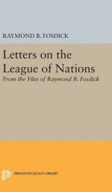Omslag - Letters on the League of Nations