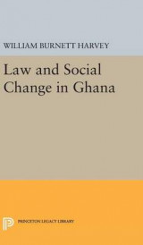 Omslag - Law and Social Change in Ghana