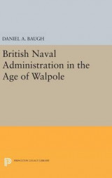 Omslag - British Naval Administration in the Age of Walpole