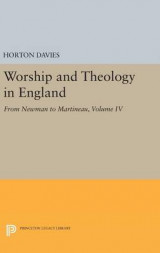 Omslag - Worship and Theology in England: Volume IV