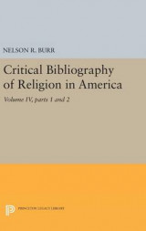 Omslag - Critical Bibliography of Religion in America: Volume IV, Parts 1 and 2