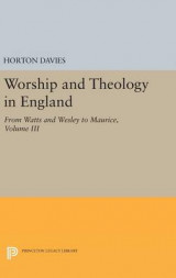 Omslag - Worship and Theology in England: Volume III