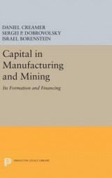 Omslag - Capital in Manufacturing and Mining
