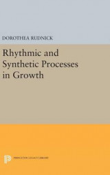 Omslag - Rhythmic and Synthetic Processes in Growth