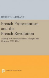 Omslag - French Protestantism and the French Revolution