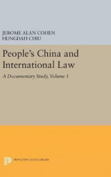 Omslag - People's China and International Law: Volume 1