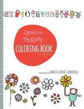 Creative Thursday Coloring Book av Marisa Anne Cummings (Heftet)