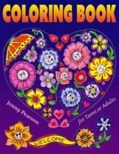 Coloring Book for Teens or Adults av Jenny Pearson (Heftet)