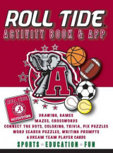 Omslag - Alabama Crimson Tide Activity Book- Hardback