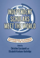 Omslag - Independent Scholars Meet the World