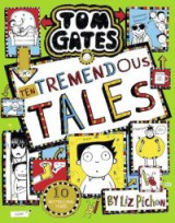 Omslag - Tom Gates 18: Ten Tremendous Tales (HB)