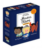 Little People, Big Dreams: Music Stars av Maria Isabel Sanchez Vegara (Innbundet)