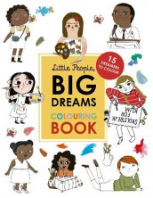 Little People, Big Dreams Colouring Book av Lisbeth Kaiser og Maria Isabel Sanchez Vegara (Heftet)