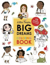 Little People, Big Dreams Coloring Book av Lisbeth Kaiser og Maria Isabel Sanchez Vegara (Heftet)