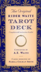 Omslag - The original rider waite tarot deck