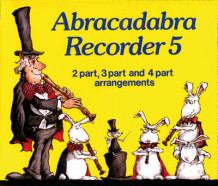 Abracadabra Recorder,Abracadabra: Abracadabra Recorder Book 5 (Pupil's Book): 2 Part, 3 Part and 4 Part Arrangements av Roger Bush (Heftet)