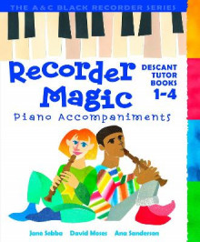 Recorder Magic Books 1-4 Piano Accompaniments av Ana Sanderson, Jane Sebba, Jeremy Fisher og David Moses (Heftet)