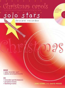 Descant Recorder: Christmas Carols: 10 Favourite Carols Arranged with Piano Accompaniments and Play Along CD av Jane Sebba og David Moses (Blandet mediaprodukt)