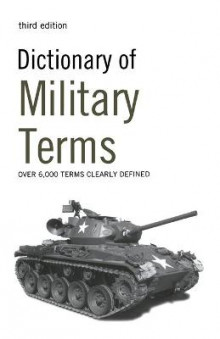 Dictionary of Military Terms: Over 6,000 Words Clearly Defined av Richard Bowyer (Heftet)