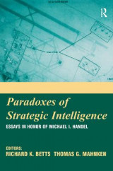 Omslag - Paradoxes of Strategic Intelligence