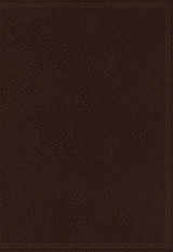 Omslag - The NKJV, Vines Expository Bible, Leathersoft, Brown, Comfort Print