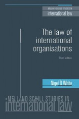 Omslag - The Law of International Organisations