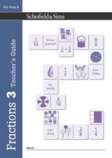 Omslag - Fractions, Decimals and Percentages Book 3 Teacher's Guide (Year 3, Ages 7-8)