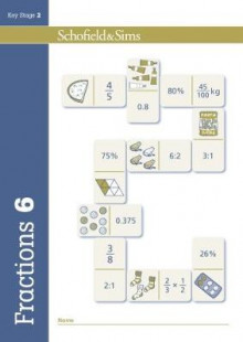 Fractions, Decimals and Percentages Book 6 (Year 6, Ages 10-11) av Schofield & Sims, Hilary Koll og Steve Mills (Heftet)