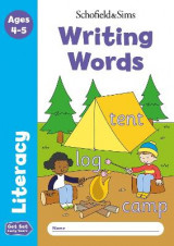 Omslag - Get Set Literacy: Writing Words, Early Years Foundation Stage, Ages 4-5