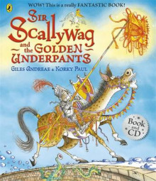 Sir Scallywag and the Golden Underpants Book and CD av Giles Andreae (Blandet mediaprodukt)