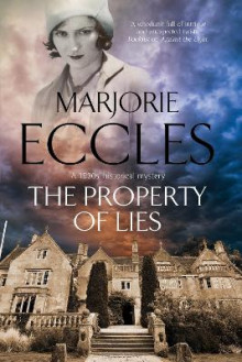 The Property of Lies av Marjorie Eccles (Innbundet)