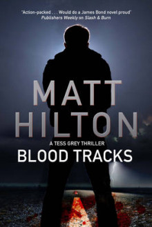 Blood Tracks av Matt Hilton (Innbundet)