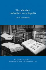 Omslag - The Maurists' Unfinished Encyclopaedia 2017